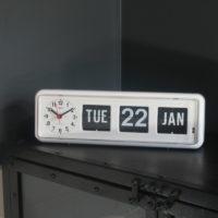 Jadco BQ38 Automatic Calendar Clock on cabinet