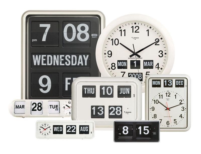 Jadco Time flipcard clocks