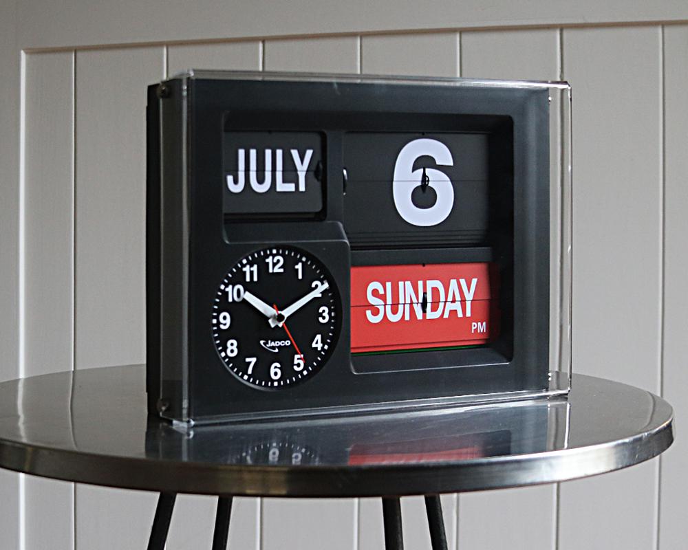 Jadco Time Calendar Clock With Day Spelt In Full Jadco