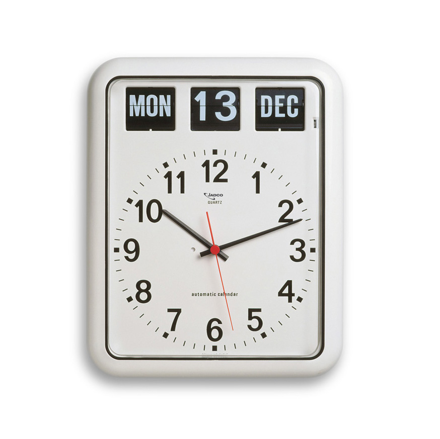 Analogue Calendar Clock with Automatic Calendar