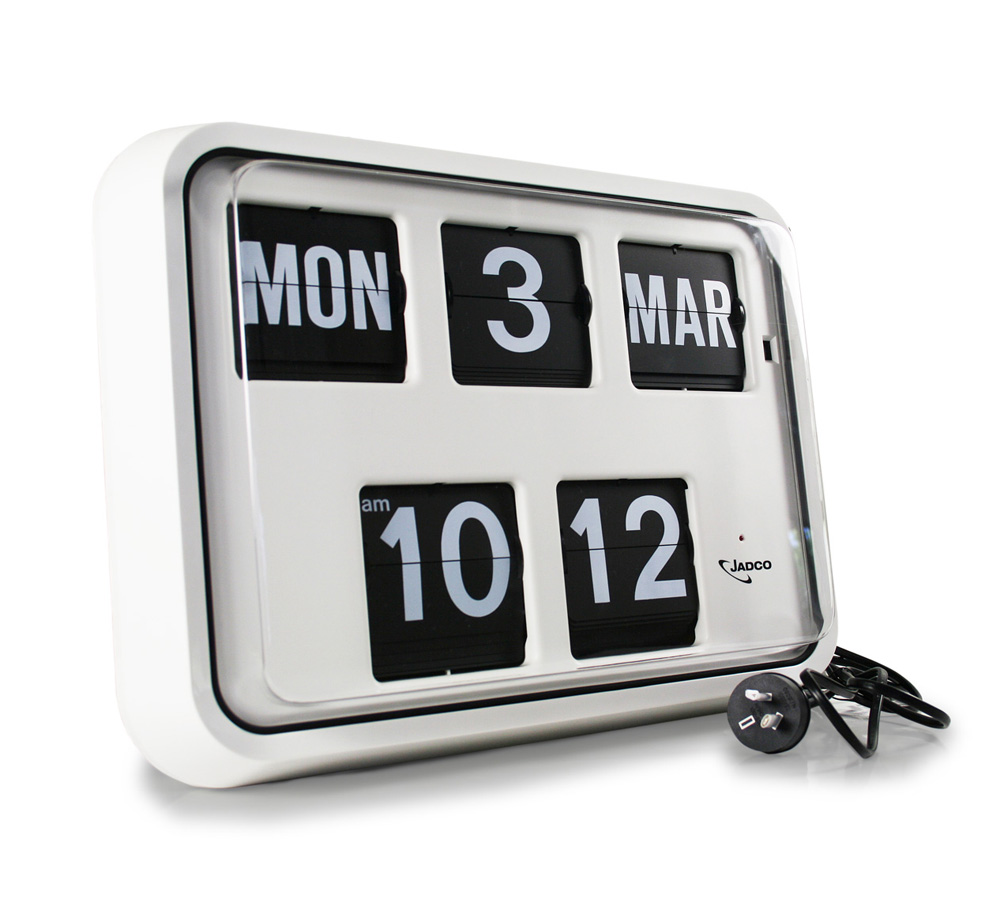 Jadco Time Reserve Power Calendar Clock Jadco Time