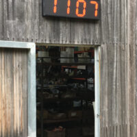 Jadco LED outdoor clock