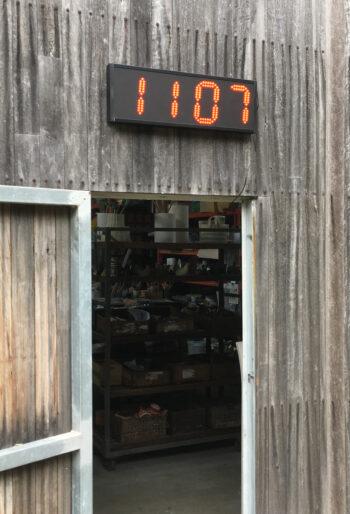 Jadco LED outdoor clock